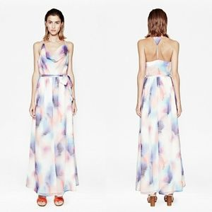 FRENCH CONNECTION - soft spray maxi dress
